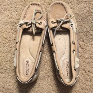 Sperry Top Sider Flat 5.5 Natural